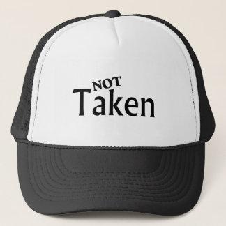 Not Taken Black Trucker Hat