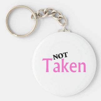 Not Taken Keychain