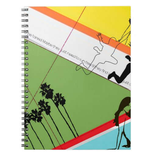 Not Tamed Spiral Note Book