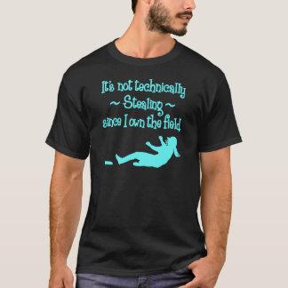 Not Technically Stealing, lt.blue T-Shirt