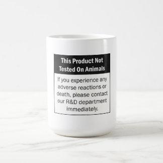 Not Tested On Animals - mug
