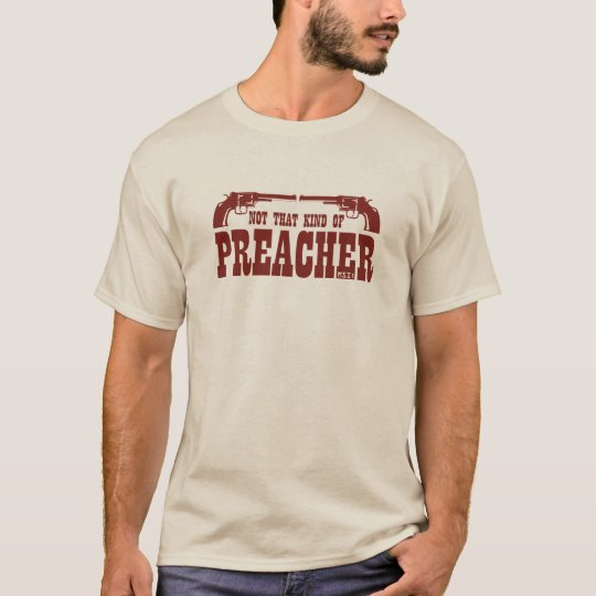 Not That Kind Of Preacher Long Sleeve Tee