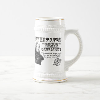 Not The Best Genealogy College 18 Oz Beer Stein