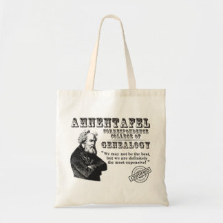 Not The Best Genealogy College Canvas Bags