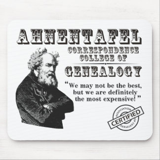 Not The Best Genealogy College Mouse Pad