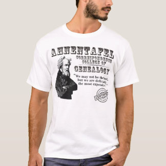Not The Best Genealogy College T-Shirt