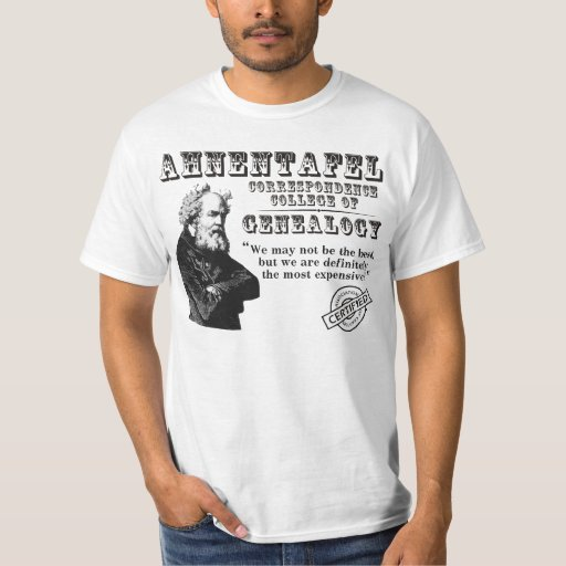 Not The Best Genealogy College T-Shirt