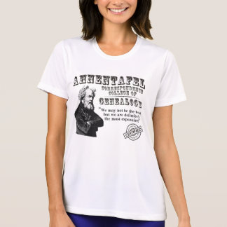 Not The Best Genealogy College T Shirts
