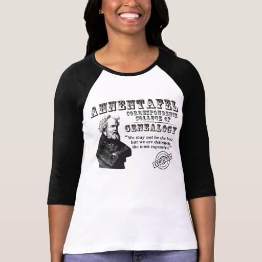 Not The Best Genealogy College Tees