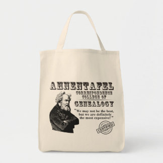 Not The Best Genealogy College Tote Bags