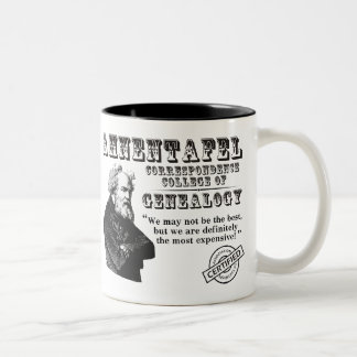 Not The Best Genealogy College Two-Tone Coffee Mug