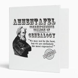 Not The Best Genealogy College Vinyl Binder
