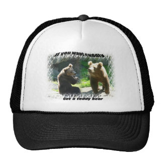 not the cuddly type hat