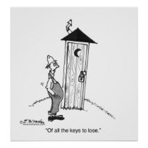 Not The Key To Lose Poster