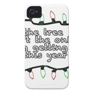 Not The Only One Getting Lit iPhone 4 Case-Mate Case