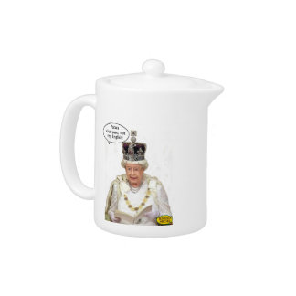 Not the Queen's English Teapot