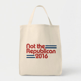 NOT the republican 2016 Tote Bag