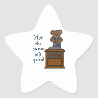 NOT THE SAME OLD GRIND STAR STICKERS