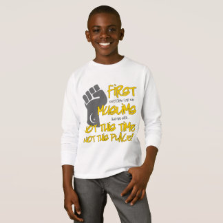 Not This Place Boy's Long Sleeve T-Shirt