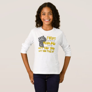 Not This Place Girl's Long Sleeve T-Shirt