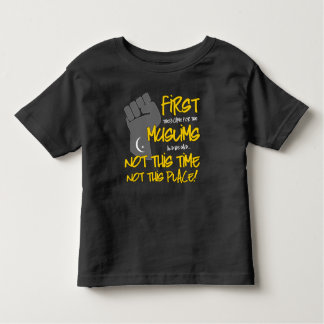 Not This Place Toddler Dark Jersey T-Shirt