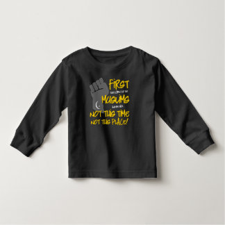 Not This Place Toddler Dark Long Sleeve T-Shirt