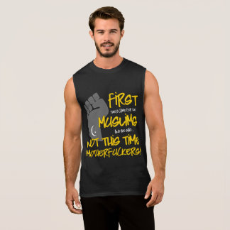 Not This Time Men's Dark Muscle Tank