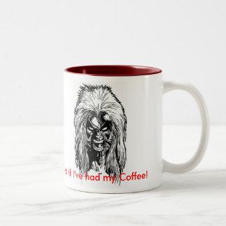 Not  til I've had my Coffee! Two-Tone Coffee Mug