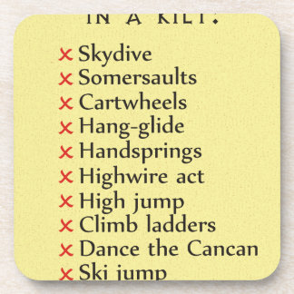 Not To Do List Coaster