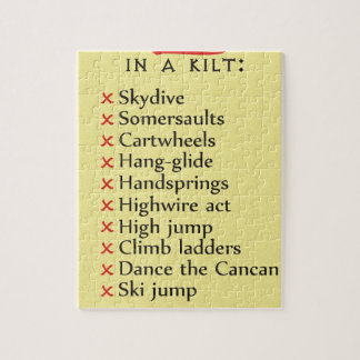 Not To Do List Puzzle