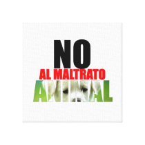 NOT TO THE BATTERING ANIMAL CANVAS PRINT