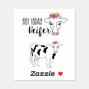 Heifers Decal Gifts on Zazzle