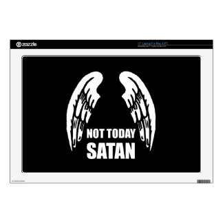 Not Today Satan Laptop Decal