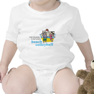 Not Too Young to Play Beach Volleyball_v2 T Shirts