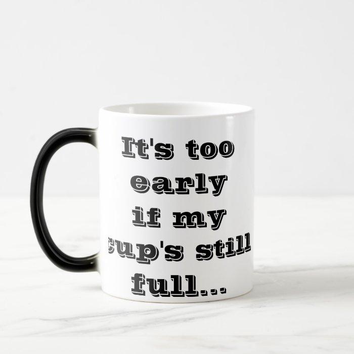 not up magic mug