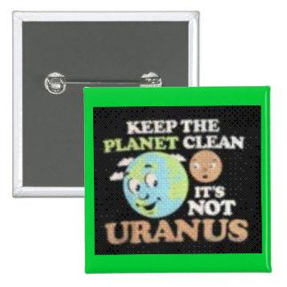 Not Uranus Pins