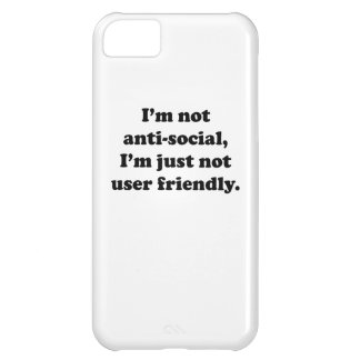 Not User Friendly iPhone 5C Covers