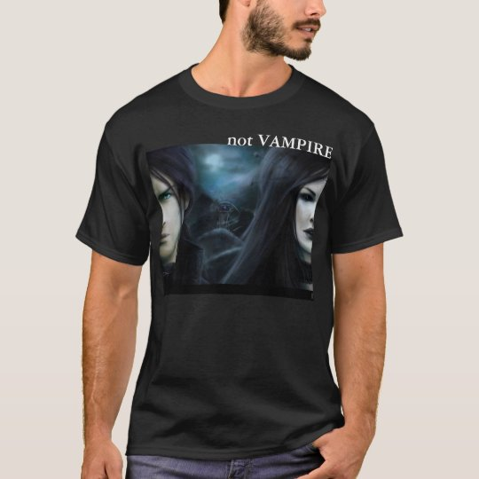 not VAMPIRE: Alien (Dark Colors) T-Shirt