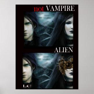 Not Vampire: Alien (poster)