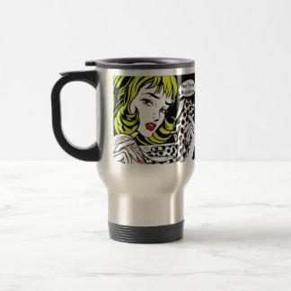 Not Voting Republican Art Travel Mug