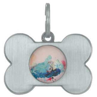 Not Waving but Drowning Pet ID Tag