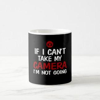 NOT WITHOUT CAMERA COFFEE MUG