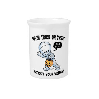Not Without Mummy Beverage Pitchers