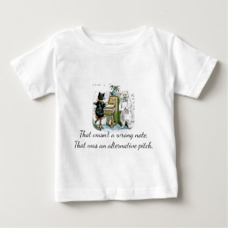 Not Wrong Note, Alternative Pitch Baby T-Shirt