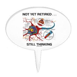Not Yet Retired ... Still Thinking Neuron Synapse Cake Picks