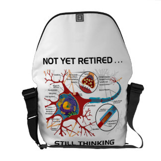 Not Yet Retired ... Still Thinking Neuron Synapse Commuter Bag