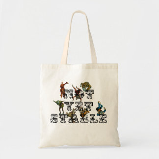 Not Yet Stable Canvas Bag