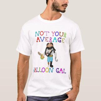 Not Your Average Balloon Gal Balloon Pirate T-Shirt