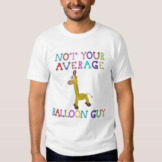 Not Your Average Balloon Guy Balloon Giraffe T-shirt