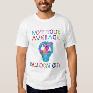 Not Your Average Balloon Guy Rabbit in Basket Tees